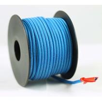 Polyester touw 3mm op spoel 17 m. Blauw Unicolor