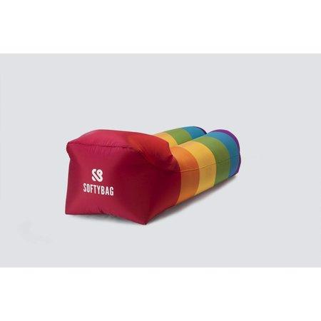 Softybag AB Softybag Rainbow 175 x 75 x 50 cm