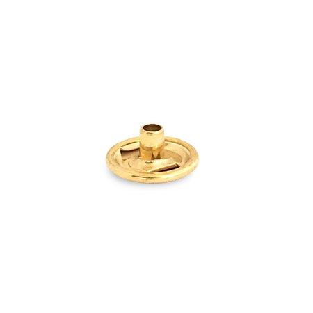 Drukknoop Gold / Goudkleur deel A