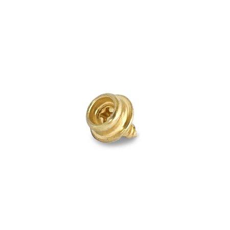 Drukknoop Gold / Goudkleur parker deel C 12mm