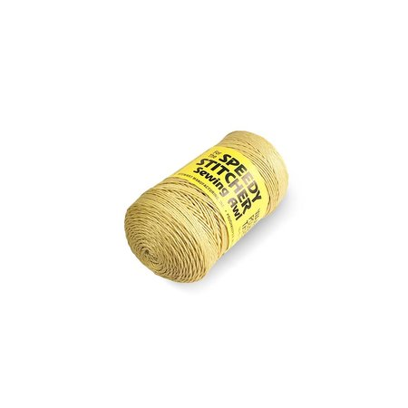 Speedy Stitcher Fine # 170 gewaxed Nylongaren, klos van 165 meter.  No. 170 Fine Polyester Thread.