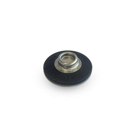 YKK SNAD Drukker Zelfklevend zwart 25 mm