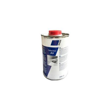 SABA Adhesives Clean AV 1 Ltr. Cleaner voor SabaBOND textiel lijm.