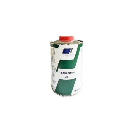 SABA Adhesives Clean 21 1 Ltr. Cleaner voor de 70T