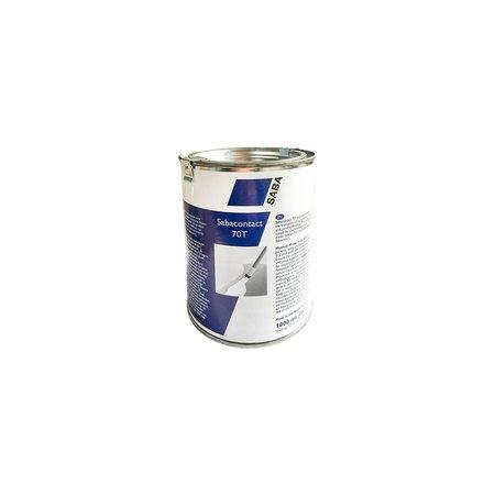SABA Adhesives Contact 70T lijm voor zacht PVC. 1 Ltr