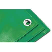 Dekzeil Pro Tarp 570 gr/m2 PVC. 6 x 10 m Groen
