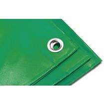 Dekzeil Cargo Tarp 570 gr/m2 PVC. 3,5 x 5 m Groen