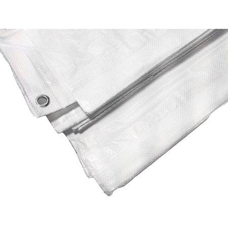 Lankotex Dekzeil 6 x 8 m Super Tarp Standard 150 gr/m2. Kleur: Wit. Kant en klaar dekzeil met zoom en ogen om de 100 cm. Groen alleen per volle pallet van 45 stuks leverbaar. Prijs € 25,92 Ex BTW per stuk. Kies een kleur.