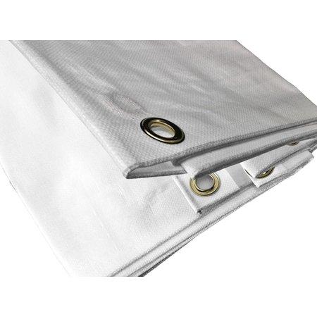 Lankotex Dekzeil Super Premium 250 gr/m2. UV bestendig. 12 x 15 m Naturel
