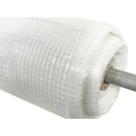Horti Film gewapend PE-doek (mallendoek). Rolbreedte 300 cm. Minimale afname 5 strekkende meter.