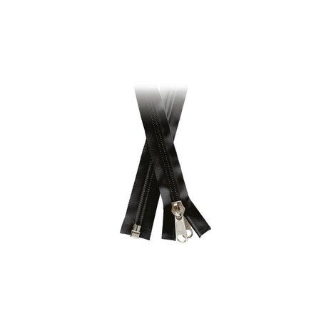 YKK YKK rits 10mm Deelbare Zwart rits. Schimmelwerend