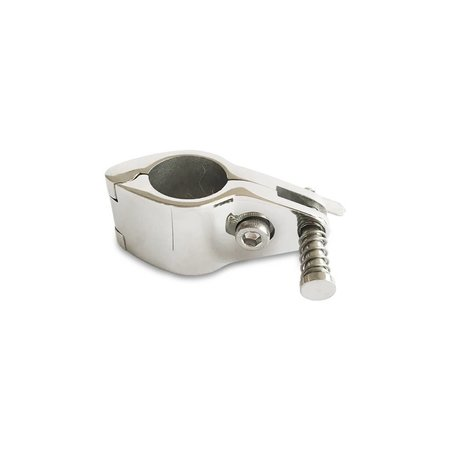 Marinetech Middenstuk 2-Delig Openklapbaar RVS inclusief Pull-Pin met Veer