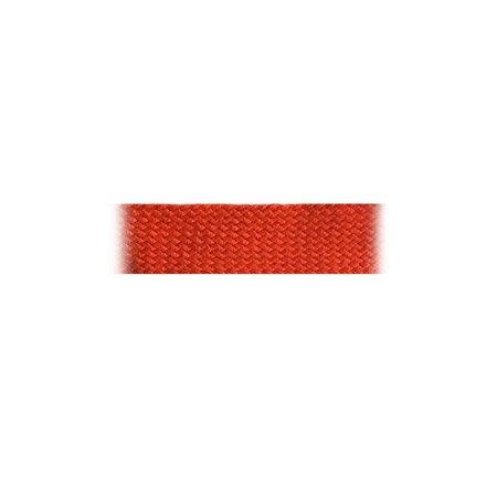 Boordband / Biesband Rood acryl 20 mm.  voor het afbiezen van onafgewerkte doekranden. Prijs per meter.