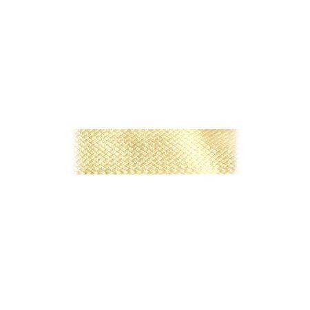 Boordband / Biesband Ecru acryl 20 mm.  voor het afbiezen van onafgewerkte doekranden. Prijs per meter.