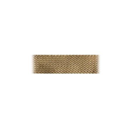 Markilux Boordband / Biesband Camel acryl 20 mm .  voor het afbiezen van onafgewerkte doekranden. Prijs per meter.