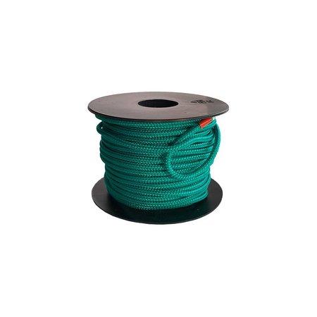 Polyester touw 3mm op spoel. Groen Unicolor