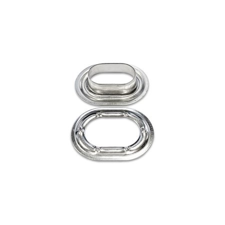 MH Tourniquet Kous & Ring Carrosserie 22,5 x 13,5 mm RVS
