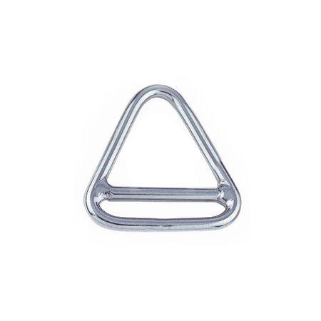 Marinetech Triangel Ring met Crossbar RVS