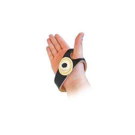 LDM Zeilhandje leder / leer voor rechter hand, uw compagnon bij handmatig stikken