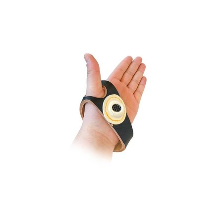 Zeilhandje leder / leer voor linker hand, uw compagnon bij handmatig stikken