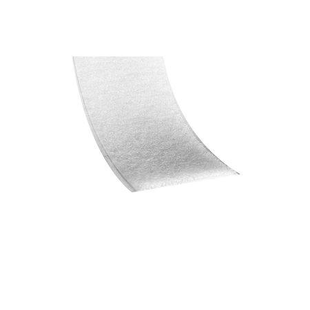 Klittenband Wit Lus (Zacht) Zelfklevend. Prijs per meter.