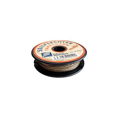 Seilflechter Takelgaren dikte 1,2 mm 'Fein' op spoel 20 m Bruin