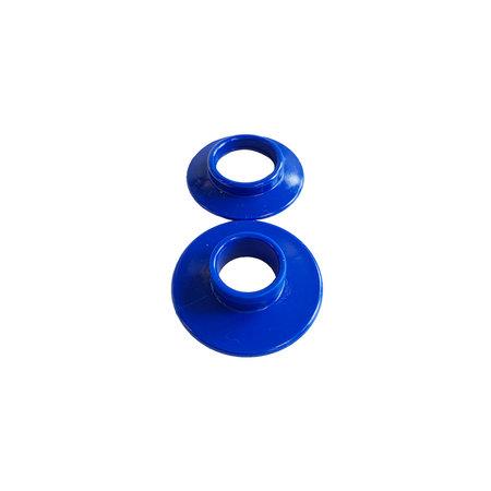 Doe-het-zelf Zeilkousenset 10 stuks. Diameter opening 14 mm. Buitenwerks maat 30 mm.