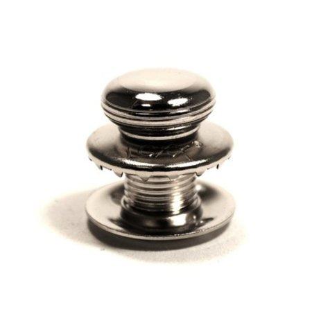 Loxx (Tenax) Duits kop EXTRA HOOG Koper-Vernikkeld 15 mm Orgineel! Made in Germany.