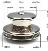 Loxx (Tenax) Duits kop RVS 15mm Orgineel! Made in Germany. De beste  Loxx voor de beste prijs.