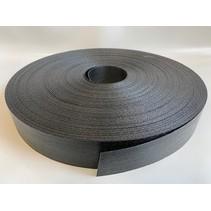 Lasband 46 mm Zwart