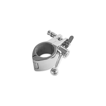 Marinetech Middenstuk 2-Delig Openklapbaar met Klemfitting RVS inclusief Pull-Pin met Veer