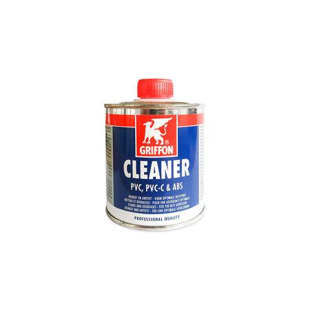 Griffon Cleaner voor PVC doek, PVC-C & ABS en Cleaner voor de Saba 70T. Ontvetter voor PVC doek & oplosmiddel en verdunner voor de Saba 70T lijm.  250 ml.
