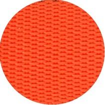 Polypropyleen (PP) band oranje 40 mm breed. Voor tassen, draagbanden en riemen. Prijs per meter.