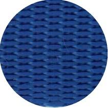 Polypropyleen (PP) band Kobaltblauw 40 mm breed. Voor tassen, draagbanden en riemen. Prijs per meter.