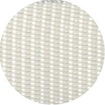 Polypropyleen (PP) band wit 25 mm breed. Voor tassen, draagbanden en riemen. Prijs per meter.