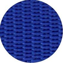 Polypropyleen (PP) band Kobaltblauw 25 mm breed. Voor tassen, draagbanden en riemen. Prijs per meter.