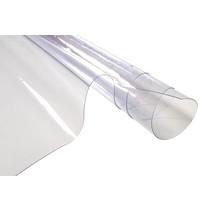 Raamfolie of glasfolie 0,5 mm dikte 137 cm breedte. Rol 25 meter