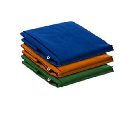 Lankotex Dekzeil 6 x 10 m Multi Tarp Standard 100 gr/m2. Kleur: Oranje