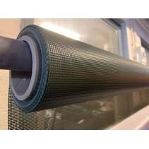 Polymar 7914 Olijfgroen PVC Gaasweefsel rolbreedte 250 cm