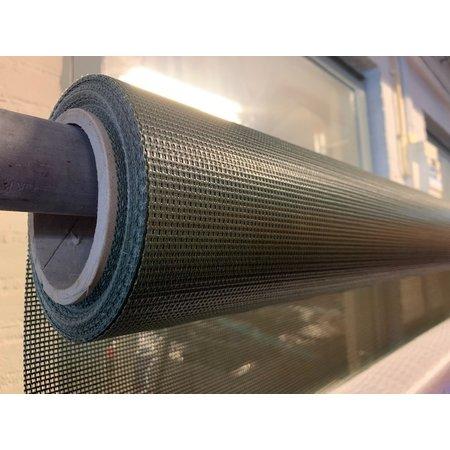 Mehler Polymar 7914 Olijfgroen PVC Gaasweefsel. Soortelijk gewicht 285 gr/m2. Rolbreedte 250 cm
