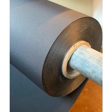 WeatherMax WheaterMax doek Graphite # 29431 PU Coated 150 cm breed. Prijs per meter. Minimale afname 5 meter. Ademend en 2 x sterker dan Acryldoek!