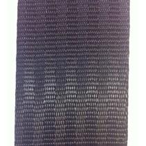 Veiligheidsgordelband / autogordelband Zwart 48 mm