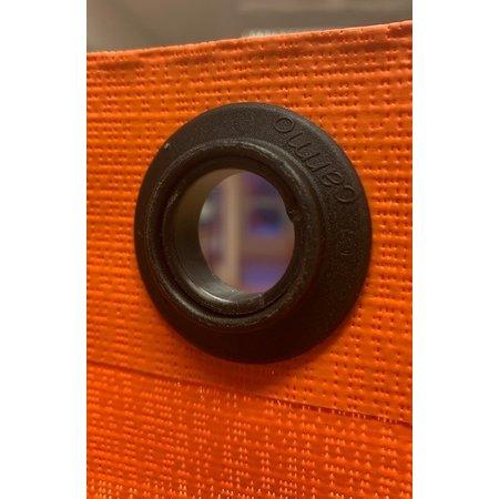 Carmo Zeilkous Kunststof 20 mm Zwart 2-delig Polypropyleen. Professionele kwaliteit. Made in Denmark.