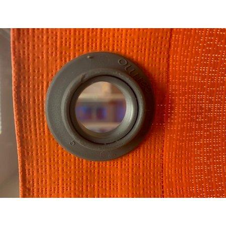 Carmo Zeilkous Kunststof 20 mm Grijs 2-delig Polypropyleen. Professionele kwaliteit. Made in Denmark.