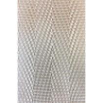 Veiligheidsgordelband / autogordelband Wit 50 mm Rol 100 meter