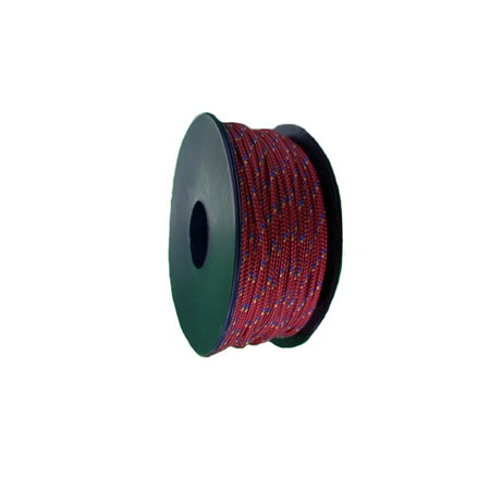 Polyester Touw 2 mm Rood Multicolor op spoel 30 m - Copy