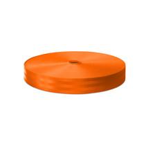Veiligheidsgordelband / Autogordelband Oranje 48 mm  rol 100 meter