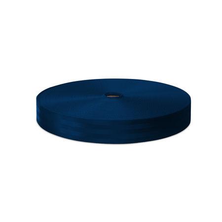 Veiligheidsgordelband / Autogordelband Donkerblauw 48 mm rol 100 meter. Verwachte leverdatum: 3e week mei.