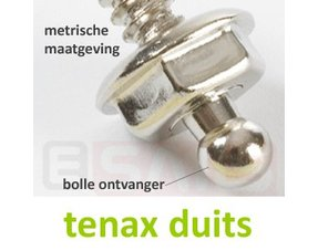 Loxx (Tenax) Drukknopen (Duits)