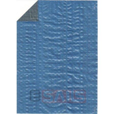 Dekzeil Hobby Groen/Blauw. 80 Gr/m2.